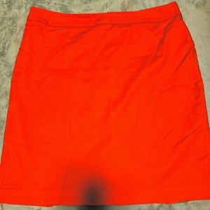 Liz Claiborne Red Skirt